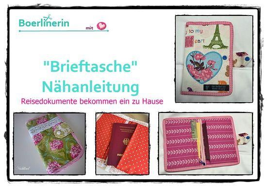 Foto zu Schnittmuster Brieftasche von Boerlinerin