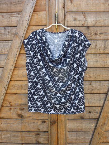 Produktfoto für Schnittmuster Shirt Mono Lisa von SO! Pattern