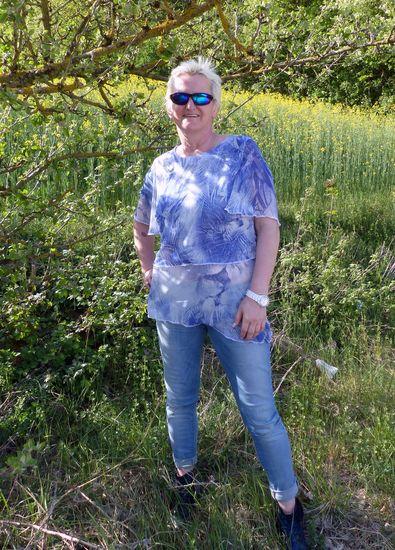 Produktfoto für Schnittmuster Blusenshirt Conny von Schnitte 4 friends