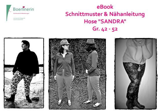 Foto zu Schnittmuster Jeggings/Treggings Sandra von Boerlinerin