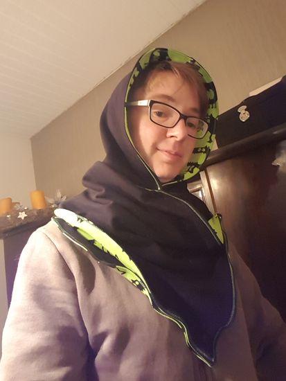 Foto zu Schnittmuster Een-Zippel-Schal von Unikati