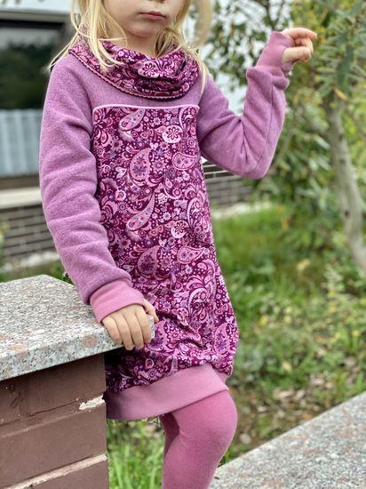 Produktfoto für Schnittmuster Rollkragen-Kleid Lavea von Bunte Nähigkeiten