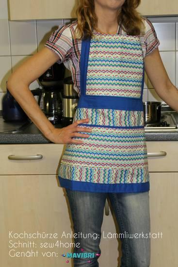Foto zu Schnittmuster Kochschürze von Lämmliwerkstatt