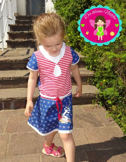 Produktfoto für Schnittmuster Meer Mädchen Kleid von Berlinerie