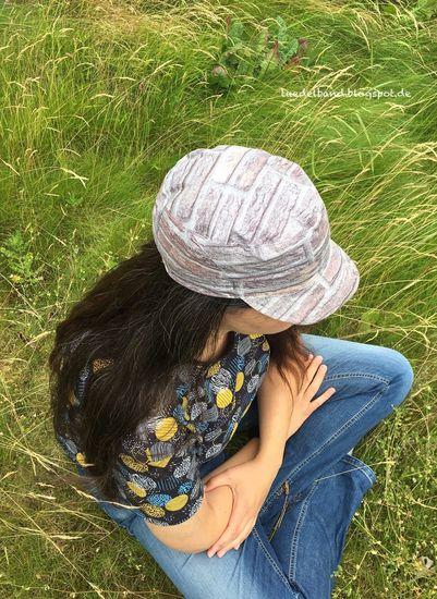 Foto für Schnittmuster Coole Kappe von klimperklein