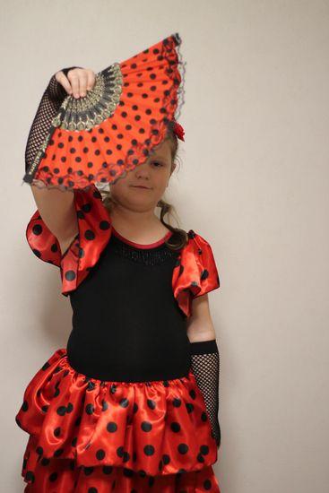 Produktfoto für Schnittmuster Flamenco-Kleid von Erbsenprinzessin