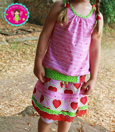 Produktfoto für Schnittmuster Leanne von prinzessin farbenfroh