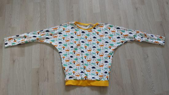 Foto zu Schnittmuster Fledermausshirt von KonfettiPatterns