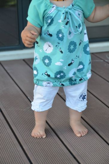 Produktfoto für Schnittmuster Bluse Mini Selma von drei eMs