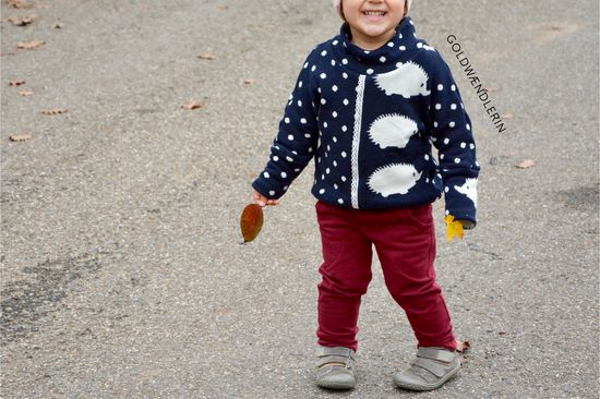 Produktfoto für Schnittmuster Fledermausshirt Pinio von Firlefanz
