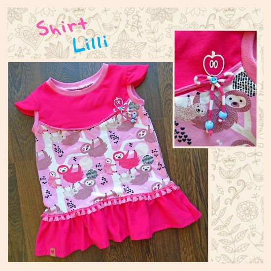 Produktfoto für Schnittmuster Shirt Lilli von Engelinchen