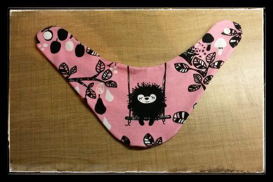 Foto zu Schnittmuster Baby Basics 1: Halstuch von Krumme-Nadel