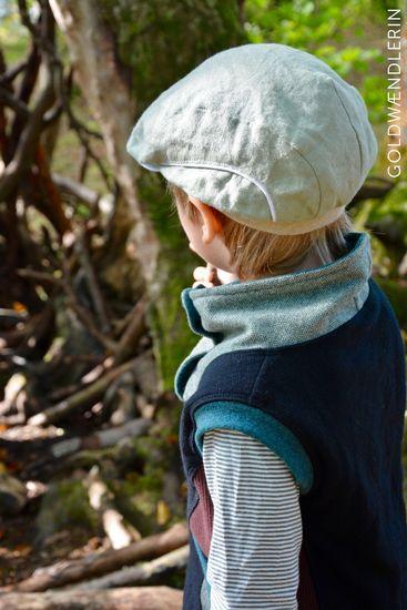 Foto für Schnittmuster Sahnehäubchen - Die Schiebermütze von Rabaukowitsch