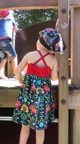 Schnittmuster Elise von rosarosa als e-book für Babies, Mädchen in Kategorie Kleid (74–158)