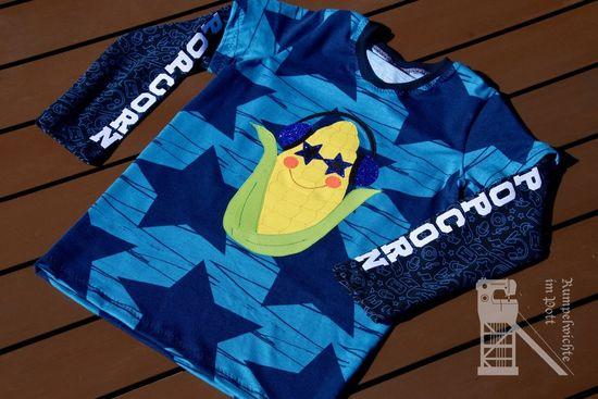 """Produktfoto für Schnittmuster Sunny Side Up - Basic Edition """"All-In-Shirt"""" von Herzensbunt Design"""