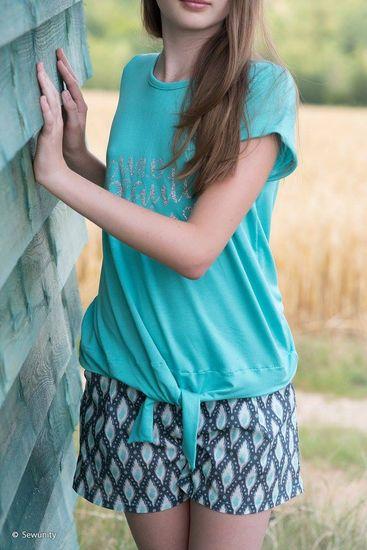 Produktfoto für Schnittmuster Knotenshirt Jolly für Kinder von kullaloo