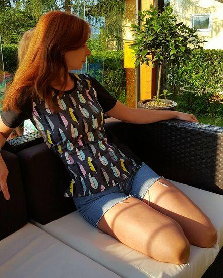 Produktfoto für Schnittmuster Long 2 Shirt von Caro's Nähseum