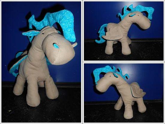 Foto zu Schnittmuster Pegasus/Pony von Aleksio