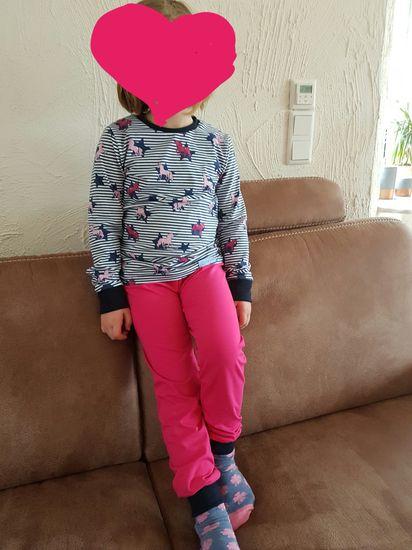 Foto zu Schnittmuster Kinderschlafanzug Milo von pattydoo