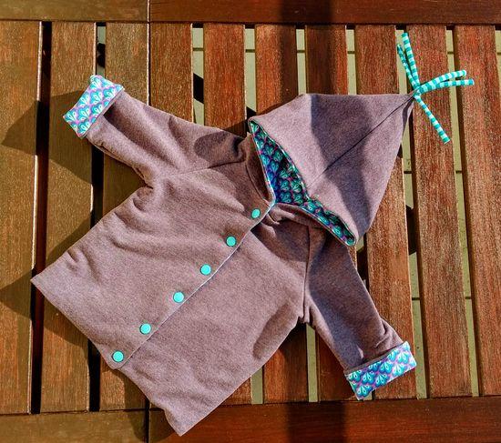 Produktfoto für Schnittmuster Babyjacke zum Wenden von klimperklein