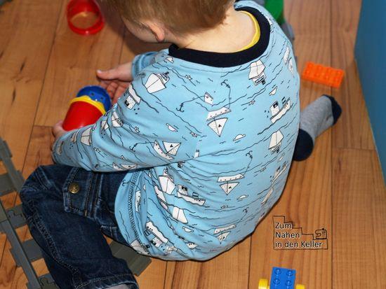 Foto zu Schnittmuster Raglanshirt Kids von Erbsenprinzessin