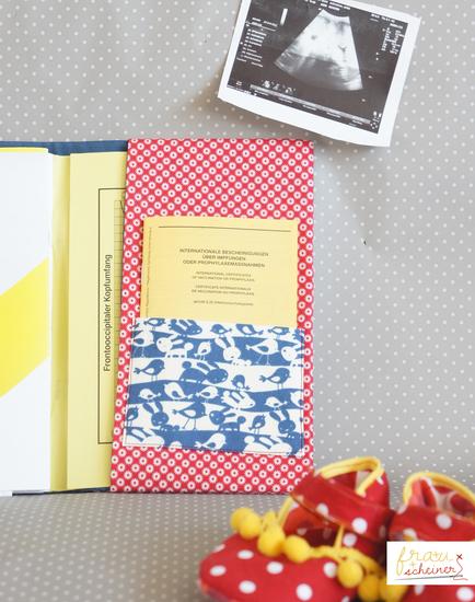 Produktfoto für Schnittmuster U-Heft-Hülle von Frau Scheiner