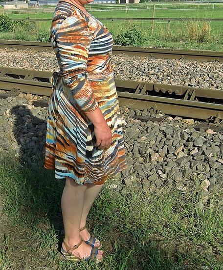 Produktfoto für Schnittmuster Wickelkleid Diane von SO! Pattern