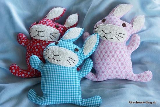 Foto zu Schnittmuster Yipeah-Hasen von Kitschwerk