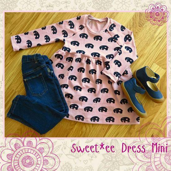 Foto zu Schnittmuster Sweet*ee Dress Mini von NipNaps
