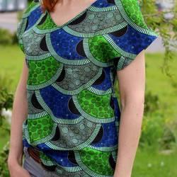 Foto zu Schnittmuster Basic Blusen-Shirt Damen von ki-ba-doo