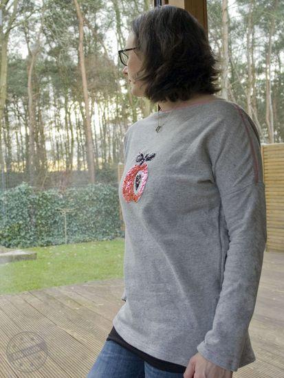 Produktfoto für Schnittmuster AUFREISSER.pulli von Leni Pepunkt