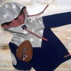 Patriots fan hoodie