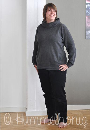 Foto zu Schnittmuster Amsterdam - Damen-Hoodie von Hummelhonig