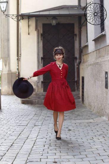 Schnittmuster Irenes Kleid von Lotte & Ludwig als e-book, DIN A0-Datei für Damen in Kategorie Kleid