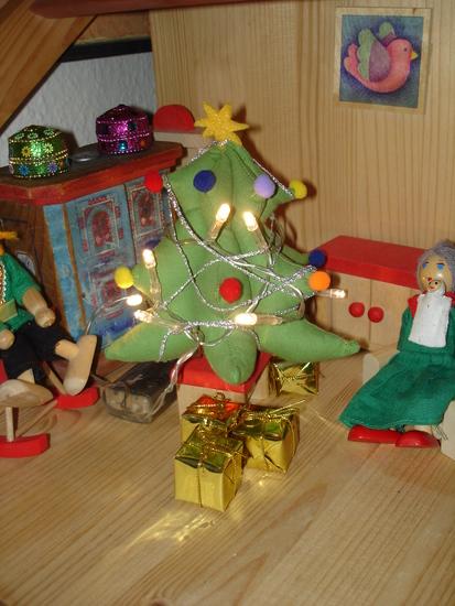 Foto zu Schnittmuster Weihnachtsbäumchen von was eigenes
