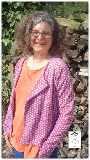 Produktfoto für Schnittmuster Frau Tomma von schnittreif