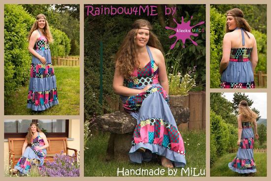 Produktfoto für Schnittmuster Rainbow for me von klecksMACS