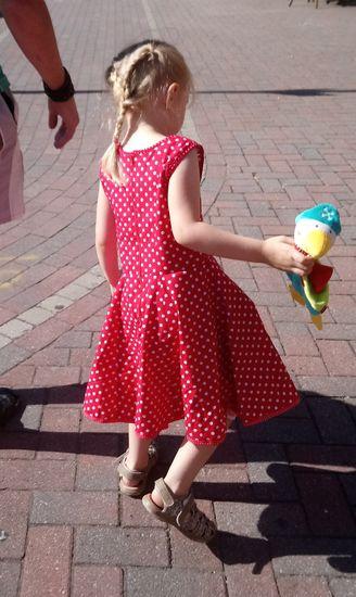Produktfoto für Schnittmuster AnniNanni Mädchentraum von Anni Nanni
