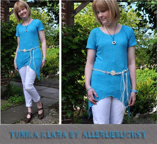 Schnittmuster Klara von Allerlieblichst als e-book für Damen in Kategorie Kleid