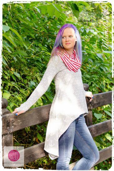 Produktfoto für Schnittmuster Oversize Shirt Lennja von Mamili1910