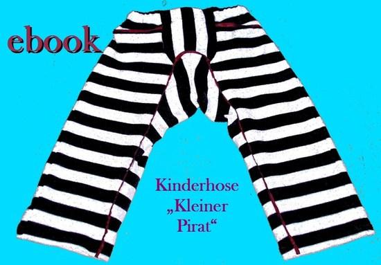 """Foto zu Schnittmuster Kinderhose """"Kleiner Pirat"""" von Pflaumenwurst"""
