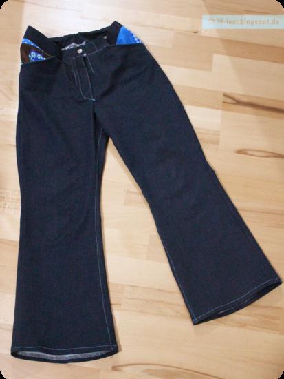 Schnittmuster Lillesol stars No. 3 Bootcut-Jeans von Lillesol &