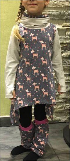 Produktfoto für Schnittmuster Oversize Shirt Lennja Kids von Mamili1910