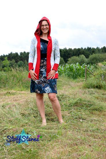 Produktfoto für Schnittmuster Miss Kapuzenkäfa Cardigan von Käfachen
