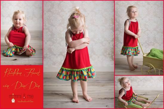 Produktfoto für Schnittmuster Kleidchen Floret von Din.Din
