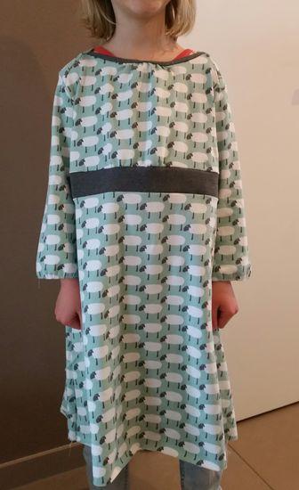 Schnittmuster #20 Dark Drops von Ottobre Design als Papierschnitt für Mädchen in Kategorie Kleid (92–122)