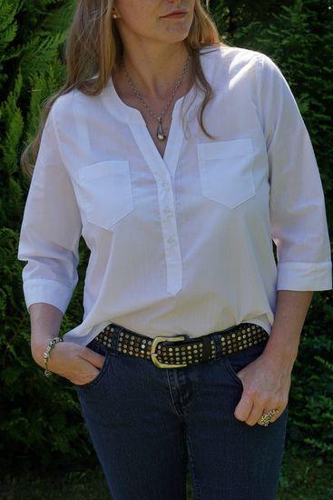 Produktfoto für Schnittmuster Cheyenne Tunika und Bluse von Hey June Patterns