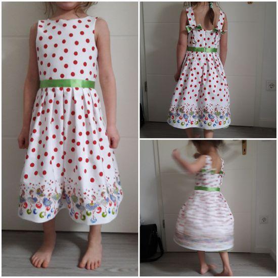 Schnittmuster #36 Kolibri von Ottobre Design als Papierschnitt für Mädchen in Kategorie Kleid (110–152)