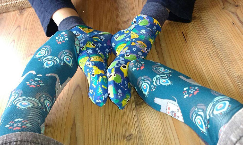 Foto zu Schnittmuster Socken Größe 35-46 von andereseite