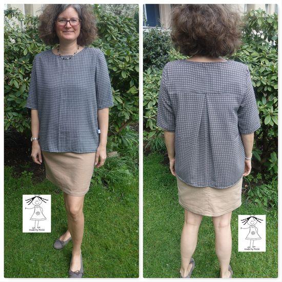 Produktfoto für Schnittmuster Frau Yoko von STUDIO SCHNITTREIF